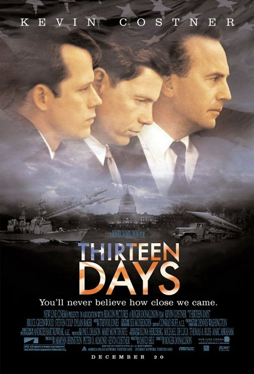 thirteen days the cuban missile crisis Free essay: thirteen days is a historical account of the cuban missile crisis it is told from the perspective of robert f kennedy, senator and brother to.